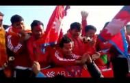 Nepali football team arrived at Kathmandu