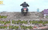 New Royal Enfield Himalyan Test Ride Track