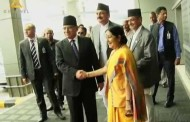 PM Dahal arrives in india