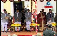 President Bidhya Devi Bhandari Oath taking Ceremony