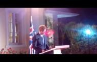Prince Harry at reception by British Ambassador