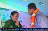 We will rise honors Nepali Football team