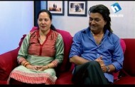 Surendra KC (Mula Saag) and His Wife in Jeevan Saathi with Narayan Puri