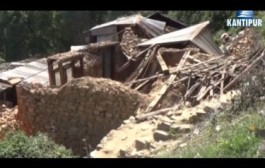 दोलखाका भुकम्प पिडितले घर निर्माण सुरुगर्न सकेनन्