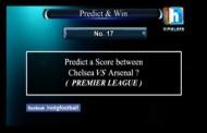 Chelsea VS Arsenal Score??-PREMIER LEAGUE (Predict & Win, Name of the Game Football)