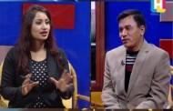 Dr.Raju Babu Shrestha (गितकार) in Samaya Sandarva  - Fagun 14