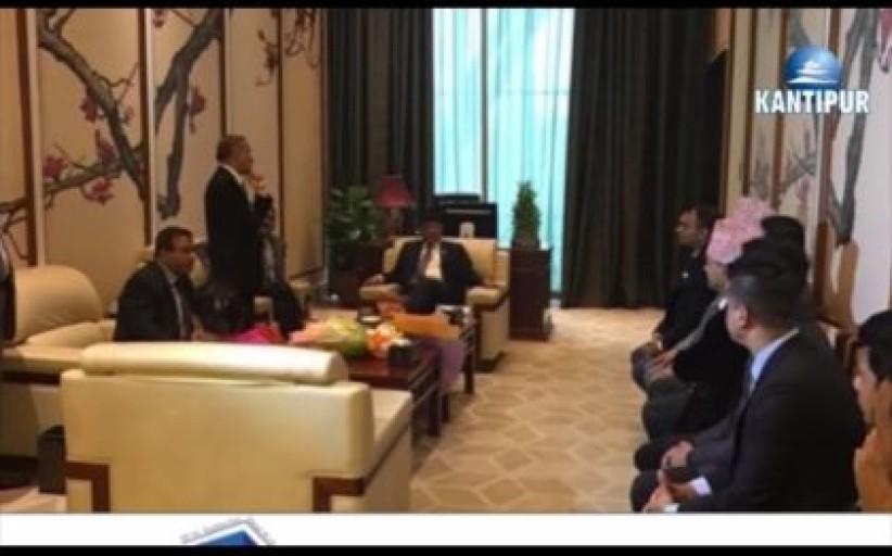प्रधानमन्त्रीको चीन भ्रमण