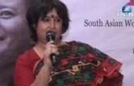 पढेर होइन, परेर नारीवादी लेखक - तसलिमा नसरिन