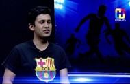 Bibek Bimali (Fan, Barcelona) - Name of the Game Football