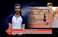 Shantim Koirala as Artist of the Week in Music Cafe