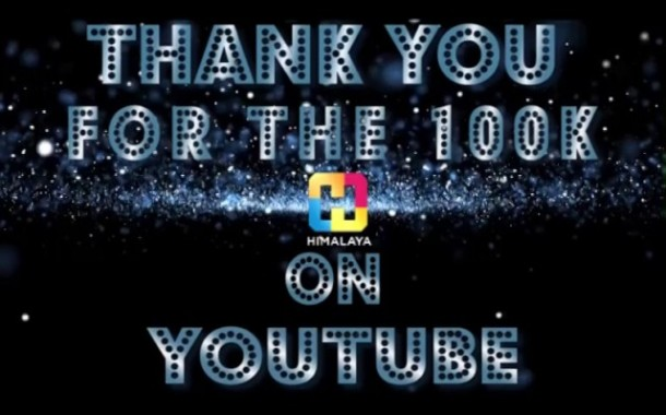 Celebrating 100k+ Subscribers - Himalaya TV YouTube Channel