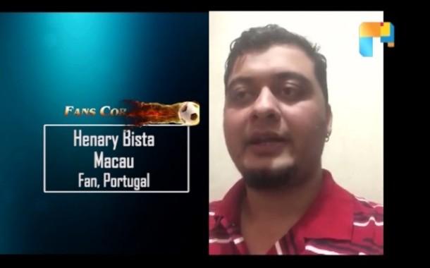 Portugal Fan Henary Bista from Macau - FIFA Confederations Cup - NOTGF