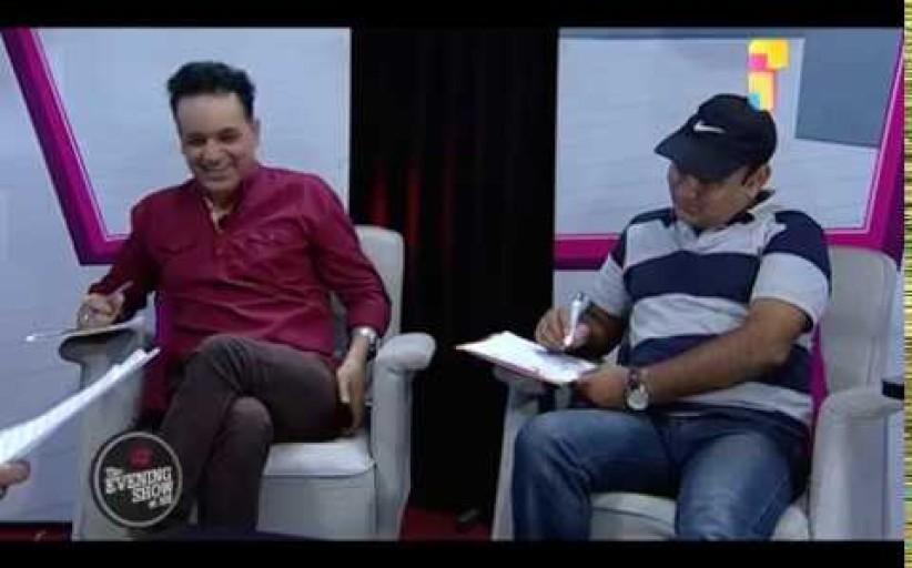 Subrat Acharya and Krishna Bhattarai (LIVON-THE EVENING SHOW AT SIX)