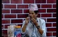 कलाकार उत्तम केसी जोगिन्दरको पान दुकानमा - Uttam KC in Jogindar Bole Pranam Ji