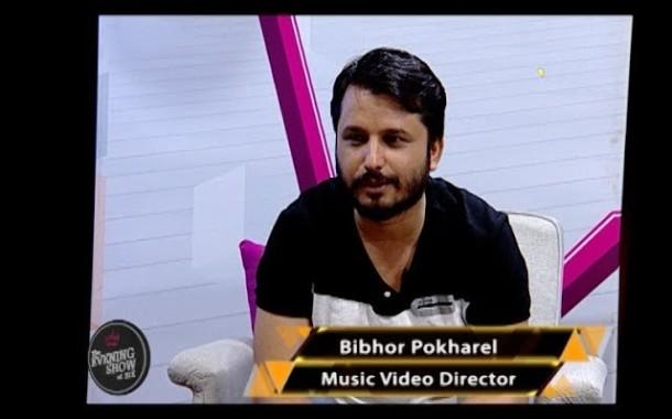 Bibhor Pokhrel | Music Video Director |LIVON-THE EVENING SHOW AT SIX