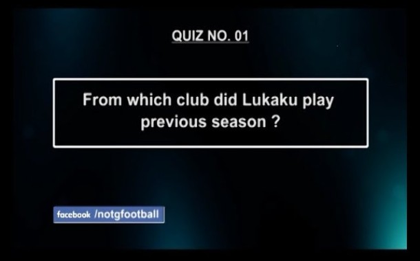NOTGF QUIZ No. 1 | Name of the Game Football