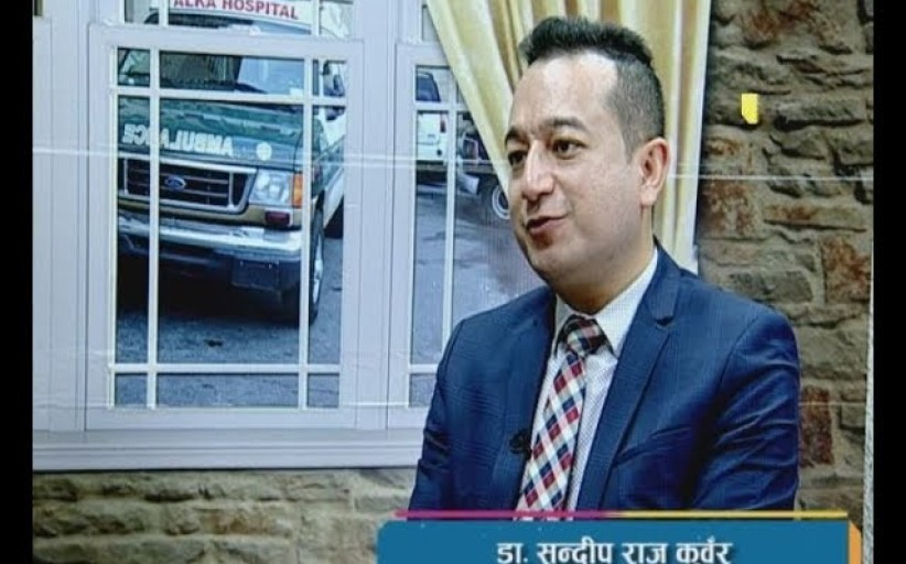 Dr. Sandip Raj Kunwar (वरिष्ट पेट रोग तथा कलेजो रोग बिशेषज्ञ)  in HEALTH STATION