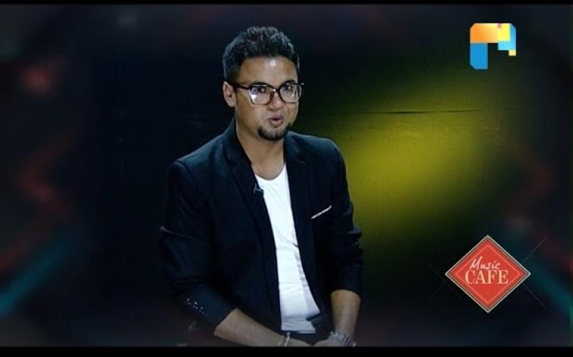 Singer Sajeeb Pudasaini   SONG OF THE WEEK   MUSIC CAFE