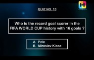 NOTGF Quiz no 13 | The record goal scorer in FIFA WC history | Name of the game football
