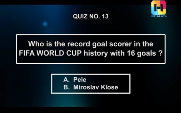 NOTGF Quiz no 13   The record goal scorer in FIFA WC history   Name of the game football