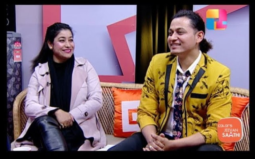 Jeevan Saathi with Malvika Subba   Sraaj Garach and Anjana Mishra