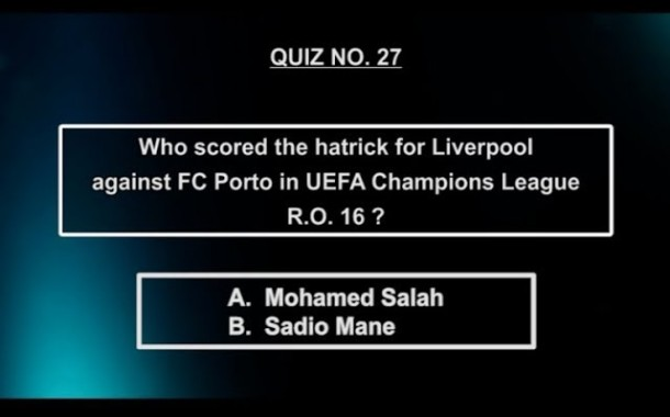 Hattick for liverpool against FC porto | Salah or Mane | NOTGF